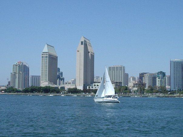 San Diego Skyline from Coronado_California
