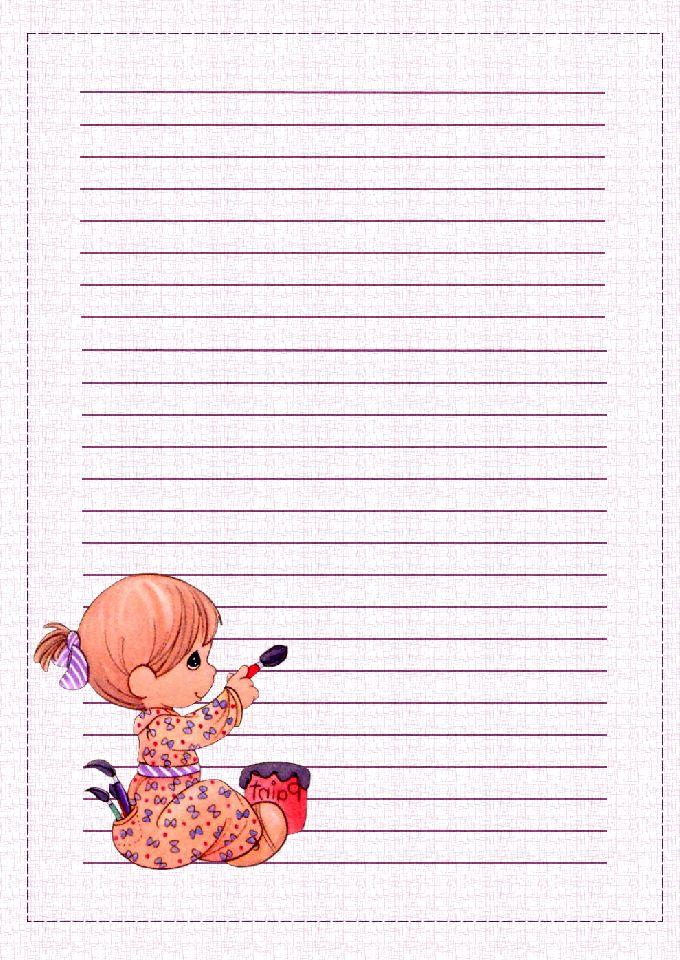 Adoro Paint Shop Pro: Papéis de Carta