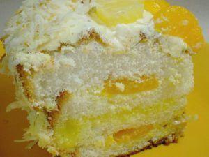 Ambrosia Cake ~ Quick & Easy