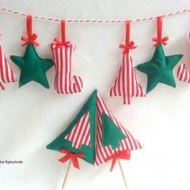 Christmas decorations/Zestaw dekoracyjny na święta