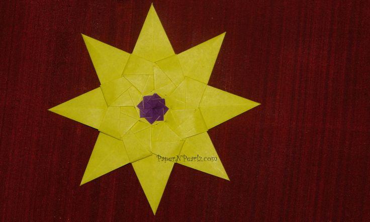 #origami Kalami Star