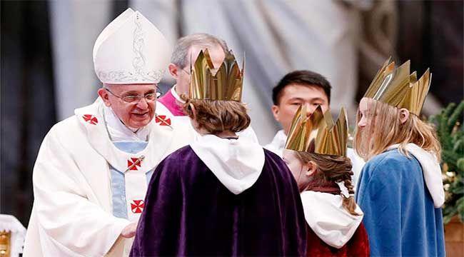 Homilía del Papa Francisco en la misa de la Epifanía del Señor