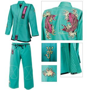 LOVE! Century® / Ami James Exclusive Limited Series Women's Koi Gi. #CenturyBJJ. When I become a black belt and can wear any color gi I want!!