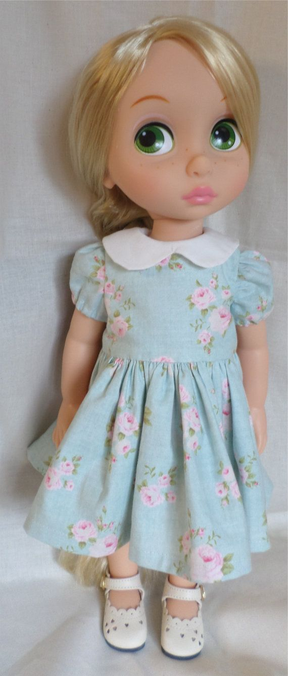 Disney Animator Doll Clothes  Pretty floral dress by MellyMakes1