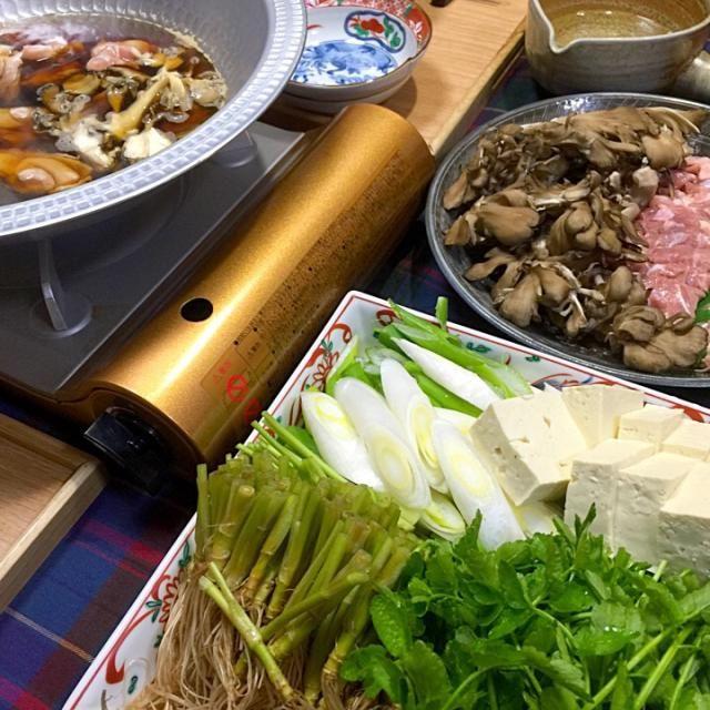 仙台名物の芹鍋に初挑戦(≧∇≦)ウマ〜 by Blueberry at 2016-01-30