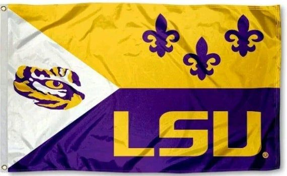 Louisiana State University LSU 3*5 Foot Flag/Banner in