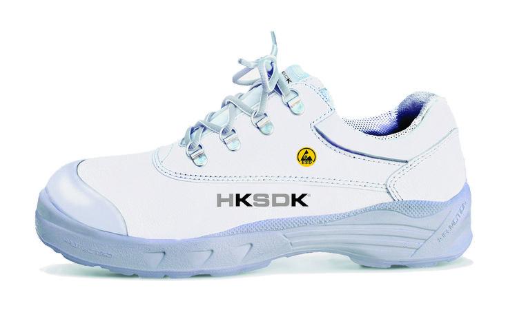 HKSDK model H3 er vores lukkede svar på H2 – osse denne en all-rounder til brug i den hvide sektor. Som alle sikkerhedssko i vores program er H3 udstyret med vores velkendte AIR-sål som garanterer komfort og velvære dagen lang. Denne model har ikke sømværn.