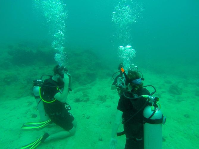 Aqua Vision SCUBA certification in Krabi