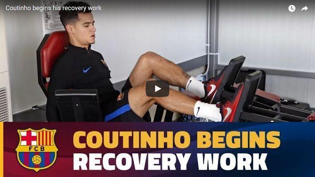 Powrót do zdrowia Coutinho, czyli praca jaką wykonał Coutinho, żeby szybciej wrócić do pełnej sprawności • Zobacz ćwiczenia Coutinho #coutinho #barcelona #fcbarcelona #pilkanozna #futbol #sport #rehabilitacja #football #soccer #sports