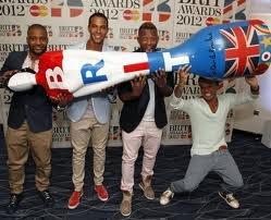 JLS at the Brits