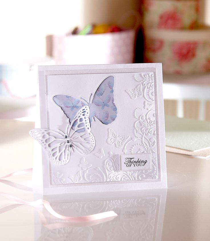 The new Signature Collection by Sara Davies is set to hit Hobbycraft stores this month, starting with Butterfly Lullaby and Festive Wonder ranges. Get a sneak peak here!