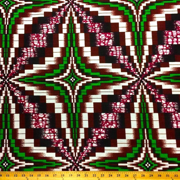 Shuriken African Print (90115-3)