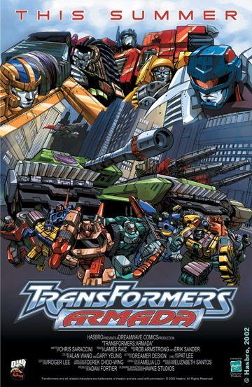 Transformers Armada promo