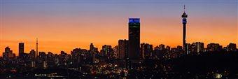 Dusk- Johannesburg