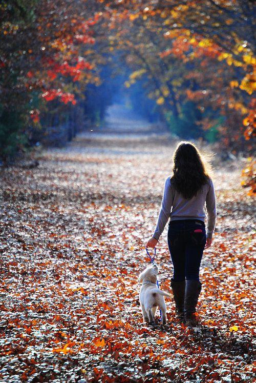 ~ Simple Living ~ long walks