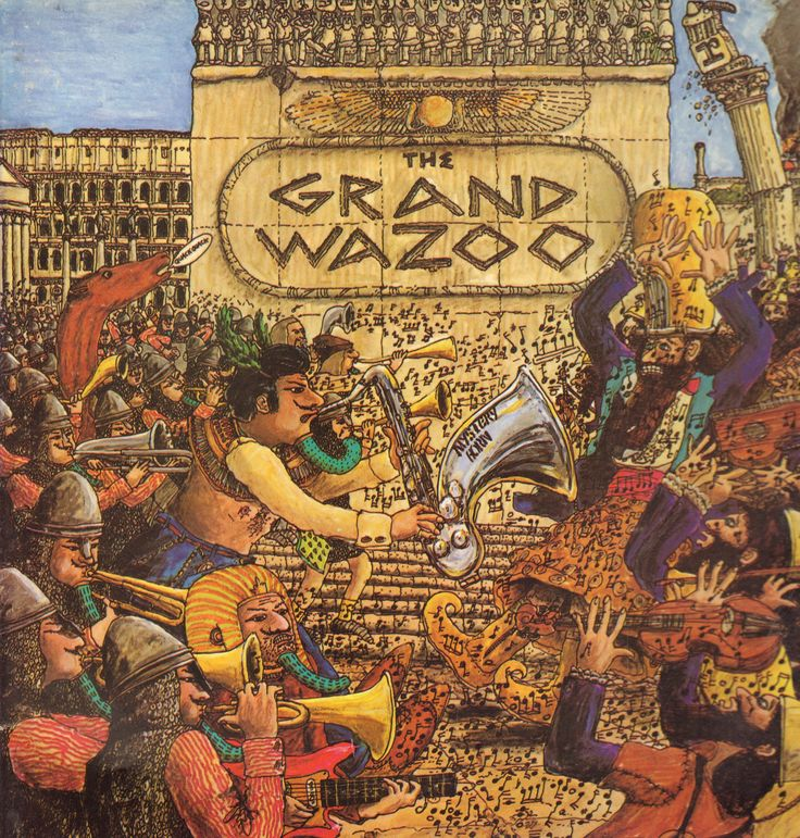 Frank Zappa The Grand Wazoo Frank Zappa Rock