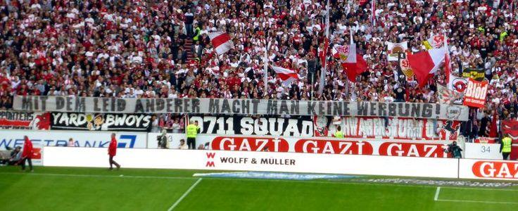 Cannstatter Kurve, VfB Stuttgart - Schalke 04