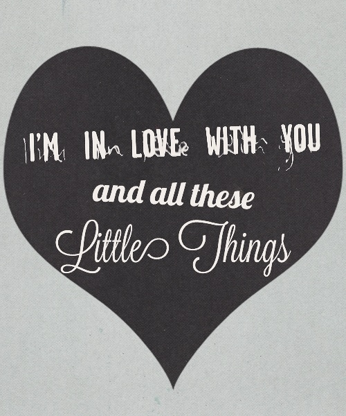 One Direction Little Things Quotes. QuotesGram