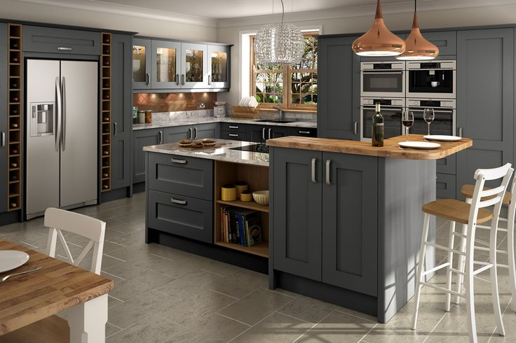 Norton Graphite Kitchens - Buy Norton Graphite Kitchen Units at Trade Prices