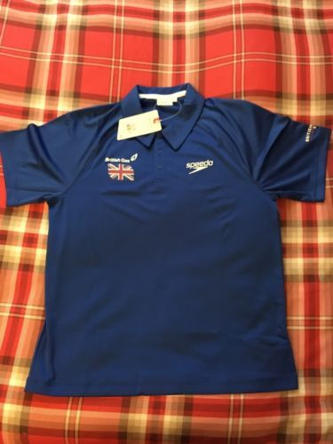 #British #swimming team gb diving #daley blue polo tshirt rio olympic medium m,  View more on the LINK: http://www.zeppy.io/product/gb/2/142213016882/