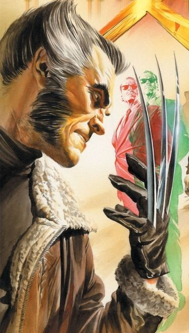 Wolverine by Alex Ross                                                                                                                                                     More