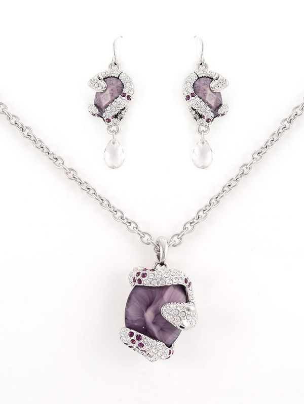 Wholesale high street fashion jewelry pendant sets online fashion outlet