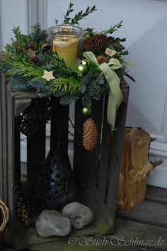ber ideen zu weihnachtsdeko aussen auf pinterest au ent ren herbst au endekoration. Black Bedroom Furniture Sets. Home Design Ideas