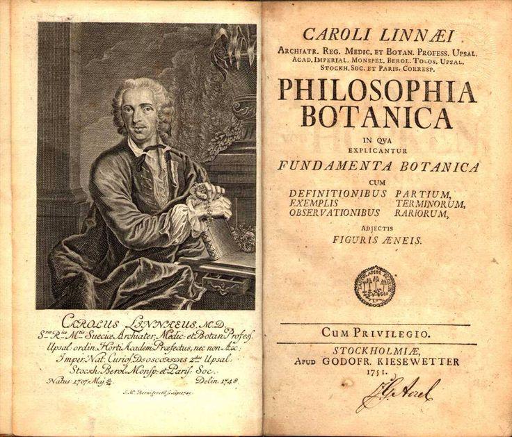 Carlo Linneo, medico, botanico e naturalista svedese, considerato il padre della moderna classificazione scientifica degli organismi viventi.