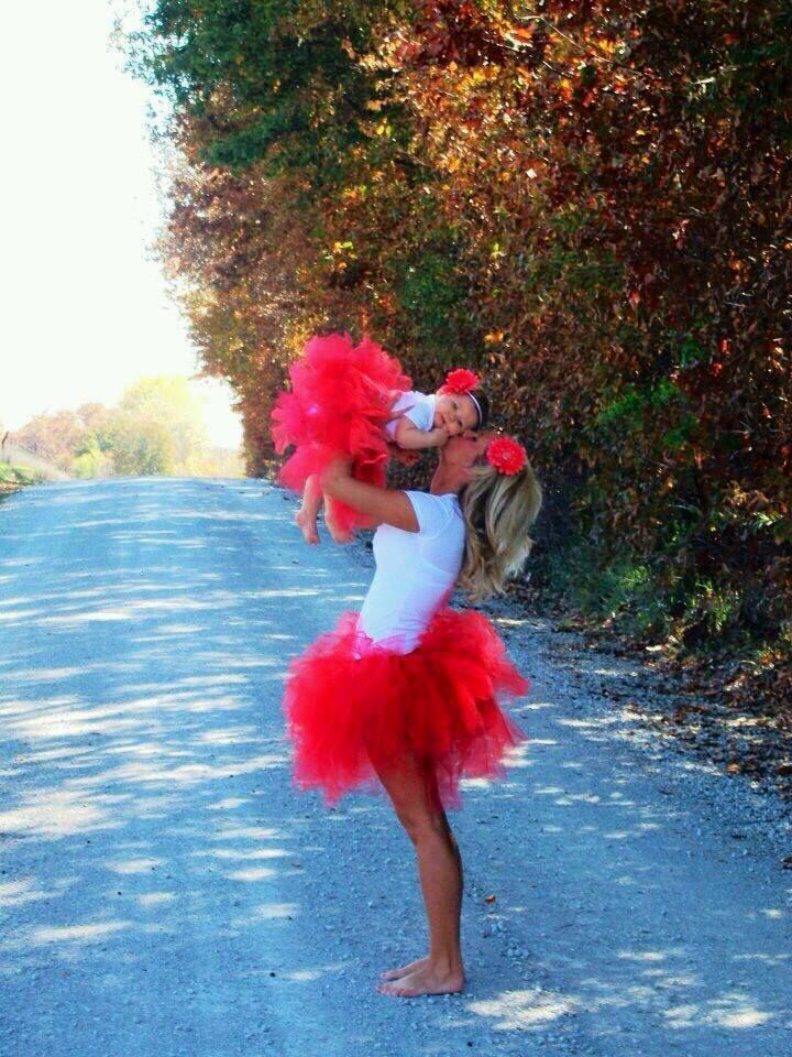 So girly! #mother #daughter #baby #tutu