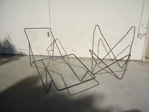how to make a butterfly chair frame