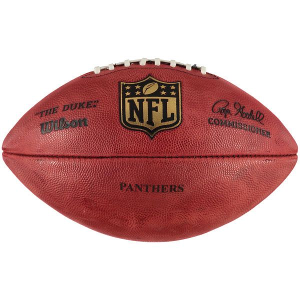"""Carolina Panthers Wilson """"The Duke"""" Official Size Replica Game Football - $129.99"""