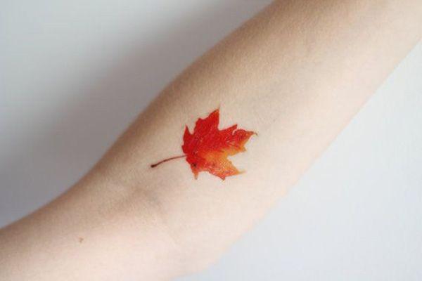 fall tattoo - 40 Unforgettable Fall Tattoos  <3 !