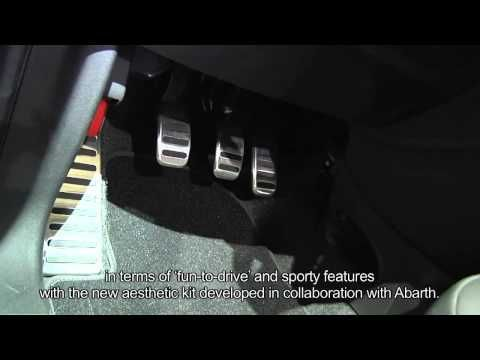 Fiat 500 Abarth TwinAir Chrissy Bologna Motor Show 2011  Interview with Giorgio