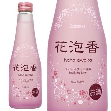 Ozeki Hana Awaka Junmai Sparkling Sake 250ML is a refreshing, fizzy, low-alcohol sake. This light, pleasant bubbly sake is just perfect as brunch and after-work drinks. Ozeki Hana Awaka has a mild sweetness and acidity. Serve very well chilled. 086724110782