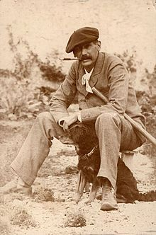"""Benito Pérez Galdós, (10 de mayo de 1843, Las Palmas de Gran Canaria - 4 de enero de 1920, Madrid) Finca Familiar """"Los Lirios"""""""