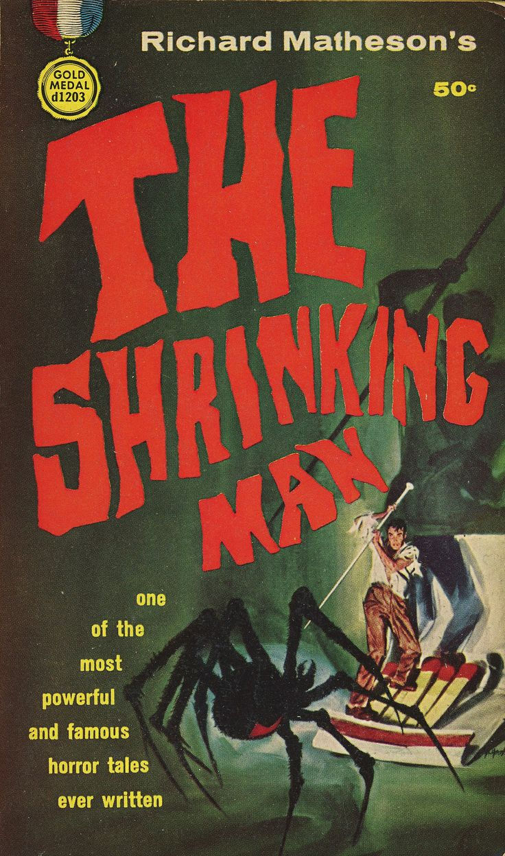 290 best my favorite book illustrations images on pinterest the shrinking man fandeluxe Image collections