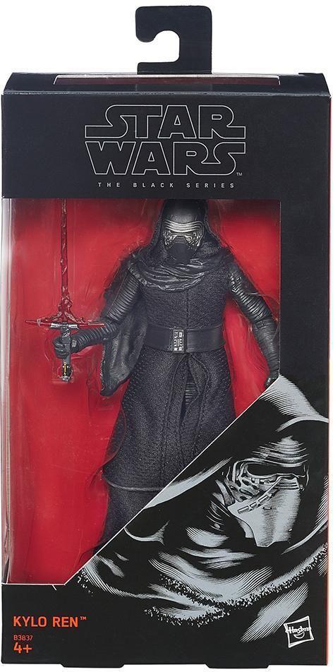 "Kylo Ren Star Wars The Force Awakens Black Series Hasbro 6"" Action Figure #12 #Hasbro"