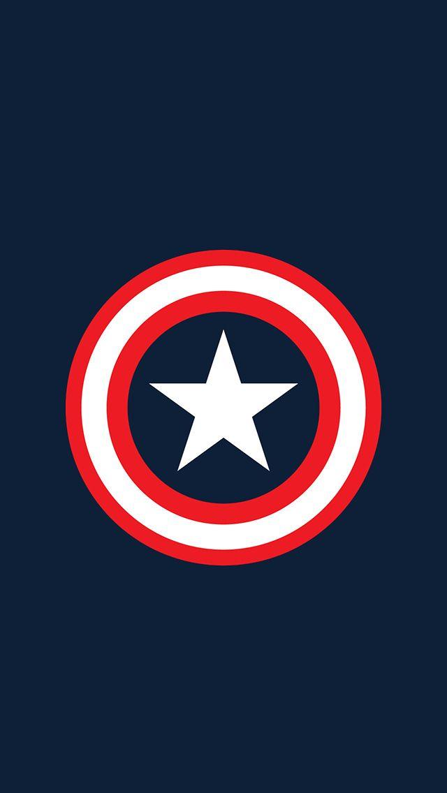 Captain America Logo Wallpaper