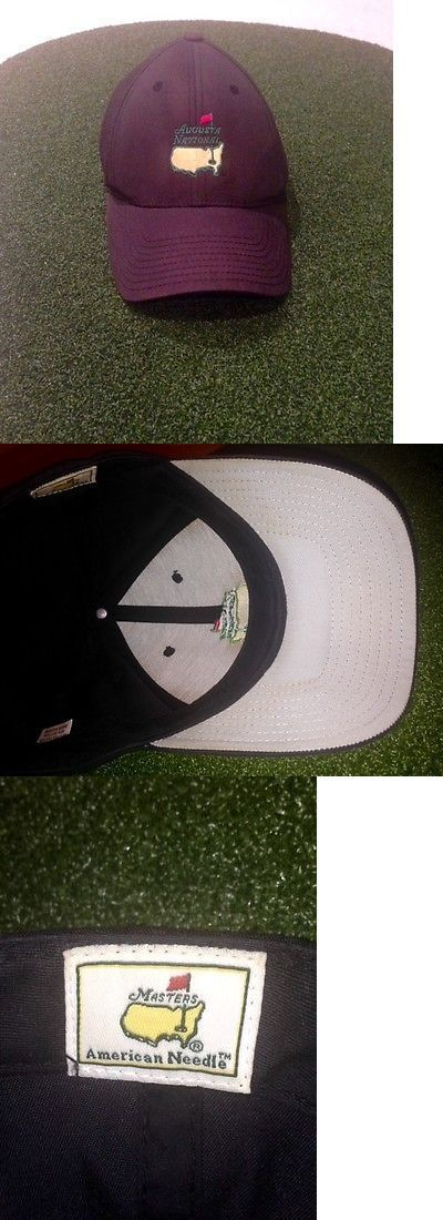 Golf 428: Masters Golf Augusta National Members Only Black Hat New Rare Pga -> BUY IT NOW ONLY: $199 on eBay! #PlayBetterGolfDude