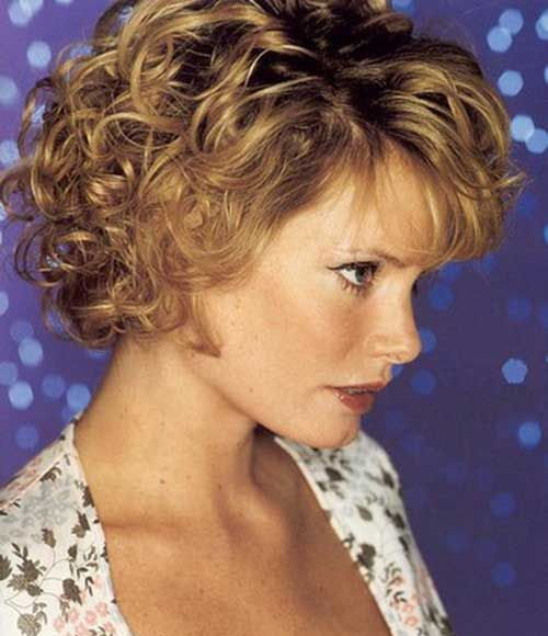 Daily Hairstyles For Curly Short Hair : Best 25 short permed hairstyles ideas on pinterest curly