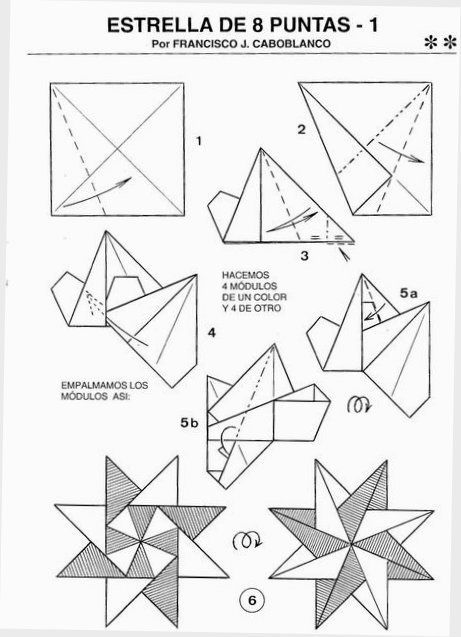491 best origami stars images on pinterest
