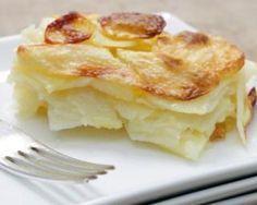 Gratin dauphinois sans crème : http://www.fourchette-et-bikini.fr/recettes/recettes-minceur/gratin-dauphinois-sans-creme.html