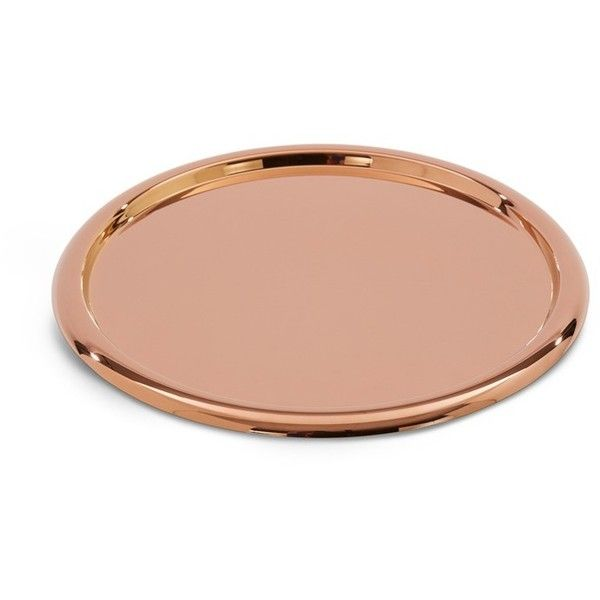 Tom Dixon Brew tray ($195) ❤ liked on Polyvore featuring home, kitchen & dining, serveware, tom dixon, modern tray, lacquer serving tray, modern serving tray and serving tray