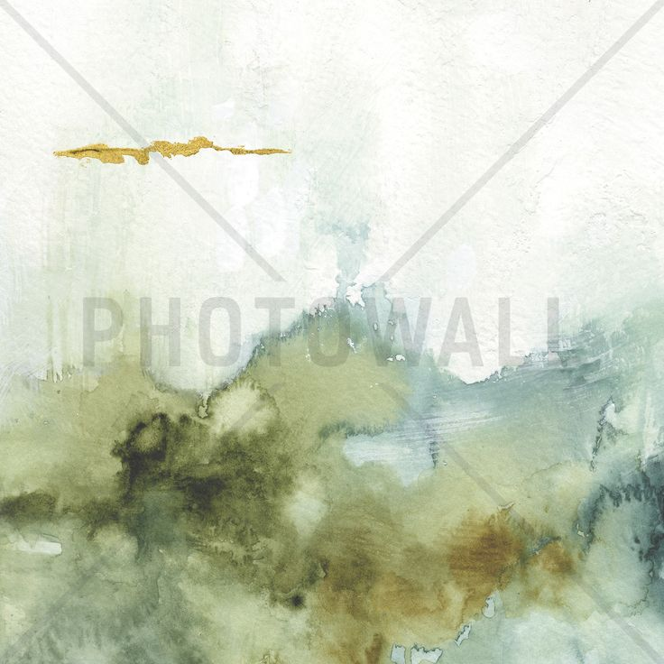 My Greenhouse Watercolor 1 - Wall Mural & Photo Wallpaper - Photowall
