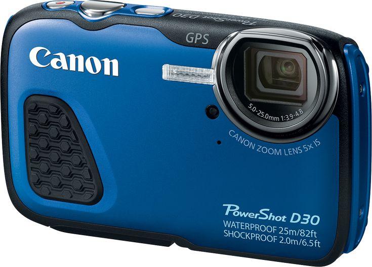 Canon PowerShot D30: Digital Photography Review. GPS