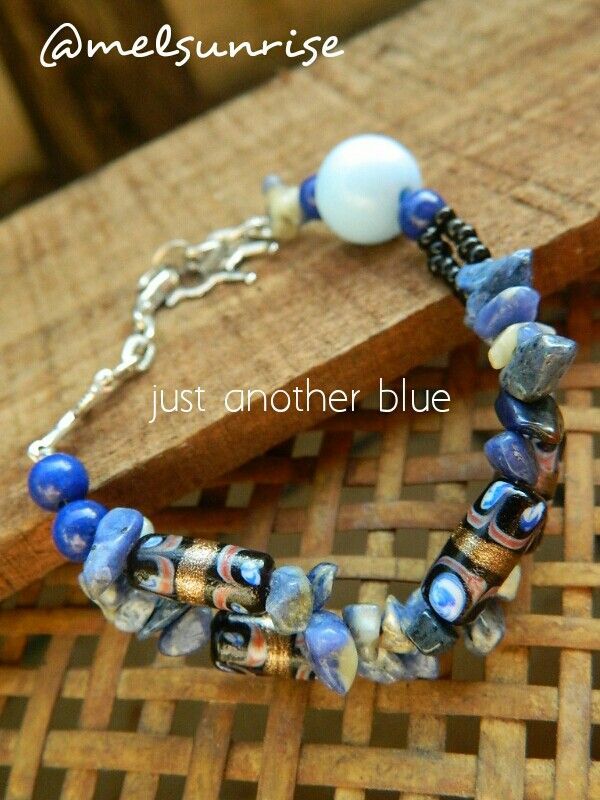 Gudho beads and natural stones.
