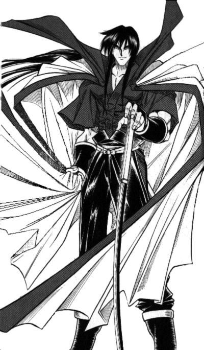 If you think Kenshin is cool... well, this is his master. Hiko Seijuro.
