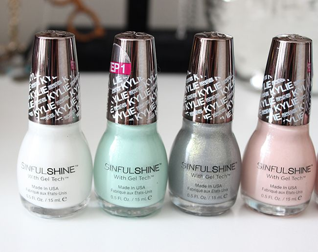 SinfulColors Kylie Jenner King Kylie Nail Polish Collection!
