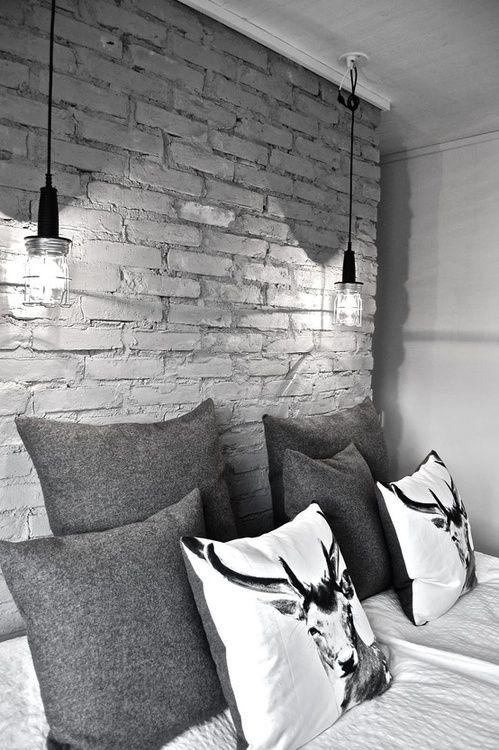 I like this idea for bedroom lighting