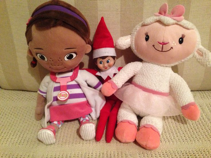Jingle-Belle, Doc and Lambie took some selfies